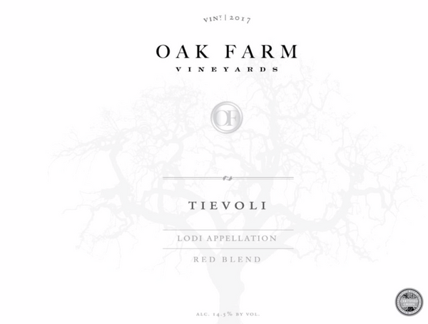 2018 Oak Farm Vineyards Tievoli, Lodi, USA (750ml)