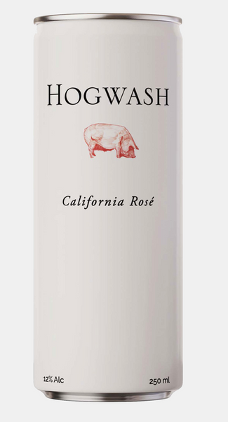 2018 Tuck Beckstoffer 'Hogwash' Rose, California, USA (24 pk cans x 375ml)