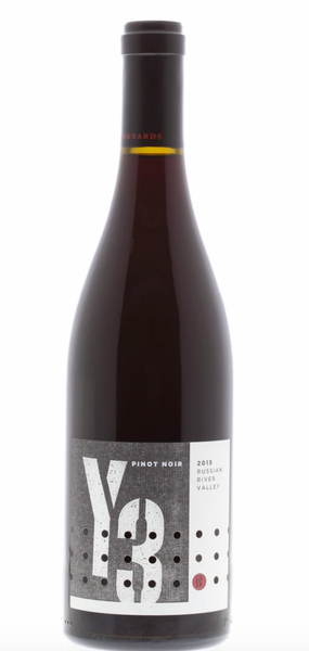 2015 Jax Vineyards 'Y3' Pinot Noir, Russian River Valley, USA (750ml)