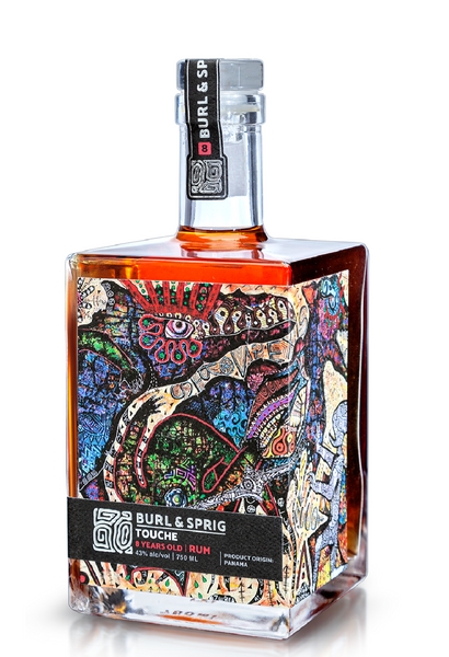 Burl & Sprig 'Touche' 8 Year Old Rum, Panama (750ml)