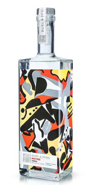 Burl & Sprig 'Matisse' Vodka, Michigan, USA (750ml)