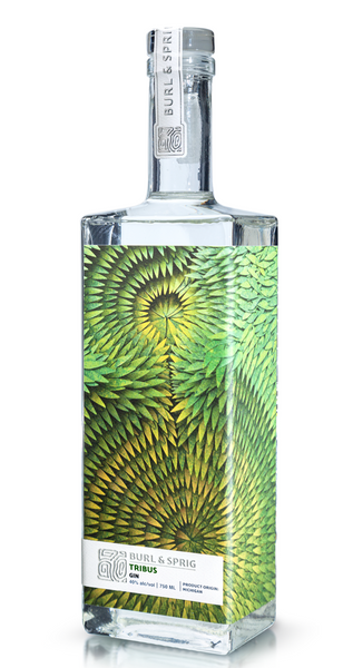 Burl & Sprig 'Tribus' Gin, Michigan, USA (750ml)