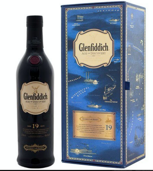 Glenfiddich Age of Discovery Collection Pack 19 Year Old Single Malt Scotch Whisky, Speyside, Scotland (750ml)