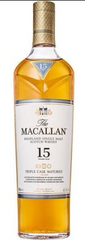 The Macallan 15 Year Old Triple Cask Scotch Whisky, Scotland (750 ml)