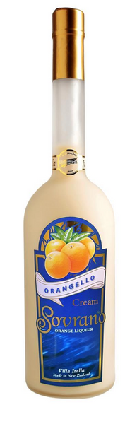 Sovrano Orangello Cream Orange Liqueur (375ml)