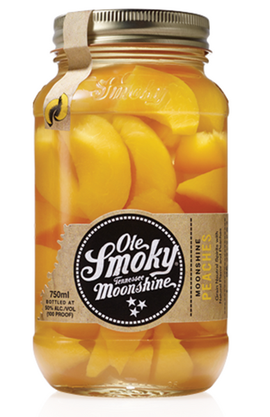 Ole Smoky Moonshine Peaches, Tennessee, USA (750ml)
