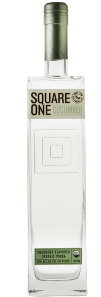 Square One Cucumber Flavored Organic Vodka, USA (750ml)