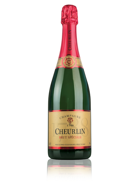 NV Champagne Cheurlin Brut Speciale, Champagne, France (750ml)