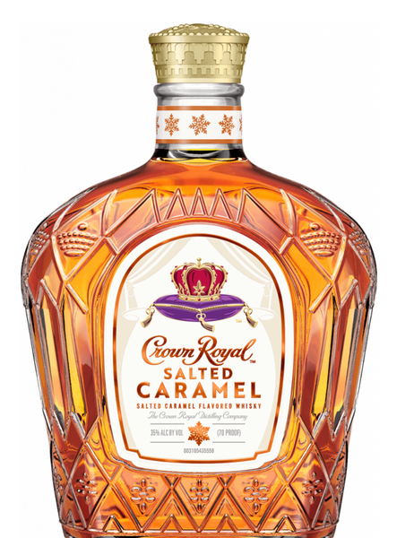 Crown Royal Salted Caramel Flavored Canadian Whisky, Canada (750ml)