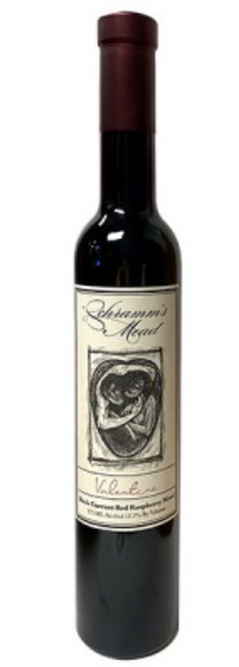 Schramm's Valentine Black And Red Raspberry Mead, Michigan, USA (375ml) HALF BOTTLE