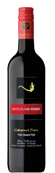 2017 Pelee Island Winery Cabernet Franc, Ontario, Canada (750ml)