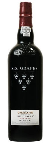 NV W & J Graham's Six Grapes Reserve Port, Portugal (750ml)