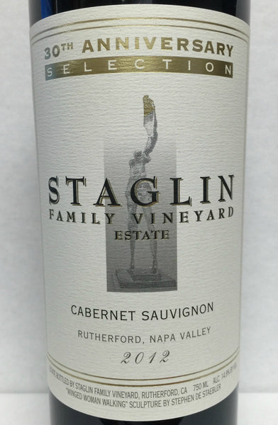 2012 Staglin Family Vineyard Estate Cabernet Sauvignon, Rutherford, USA (750ml)