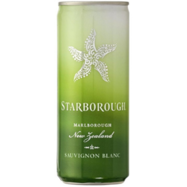 Starborough Sauvignon Blanc, Marlborough, New Zealand (24pk 250ml cans)