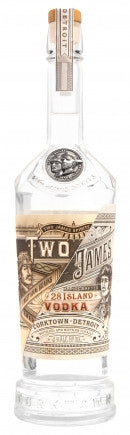 NV Two James 28 Island Vodka (750ml)