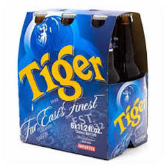 6pk-Tiger Lager Beer, Singapore (330ml)
