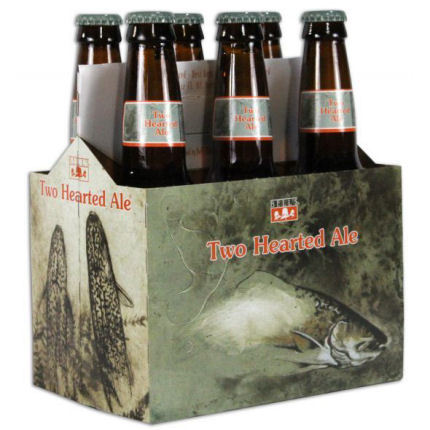 6pk-Bell's Two Hearted India Pale Ale Beer, Michigan, USA (12 oz)