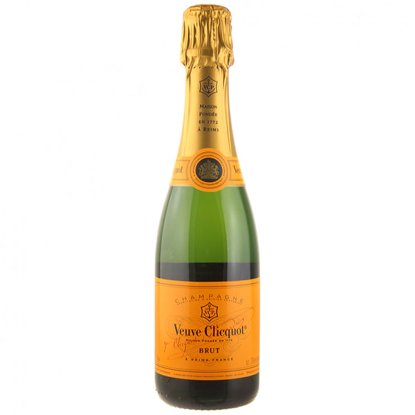 NV Veuve Clicquot Ponsardin Brut, Champagne, France (375ml) HALF BOTTLE