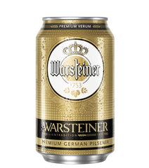 (24pk cans)-Warsteiner Pilsener Beer, Germany (330ml)