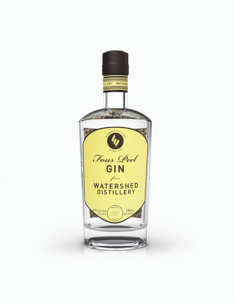 Watershed Distillery Four Peel Gin, Ohio, USA (750ml)