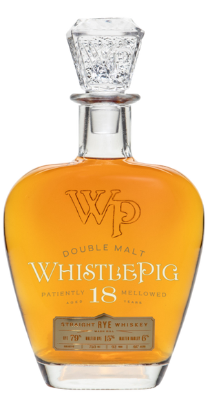 WhistlePig Farm 18 Year Old Straight Rye Whiskey, Vermont, USA (750ml)