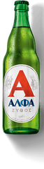 6pk-Alfa Lager Beer, Greece (330ml)