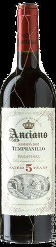 2010 Bodegas Navalon Anciano 'Aged 5 Years' Reserva Tempranillo, Valdepenas, Spain (750ml)