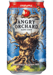 (24pk cans)-Angry Orchard Crisp Apple Hard Cider, USA (12oz)