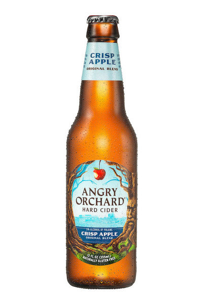 (2 x 12pk)-Angry Orchard Crisp Apple Hard Cider, USA (12oz)