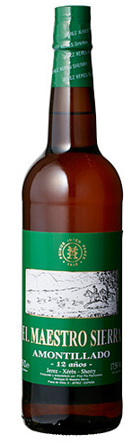 NV Bodegas El Maestro Sierra Amontillado Superior 12 Anos Sherry, Andalucia, Spain (375ml)