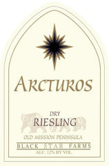 2015 Black Star Farms 'Arcturos' Dry Riesling, Old Mission Peninsula, USA (750ml)