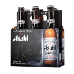 6pk-Asahi Lager Beer, Japan (330ml)