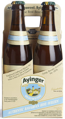 4pk-Ayinger Brauweisse Hefeweizen Beer, Germany (330ml)