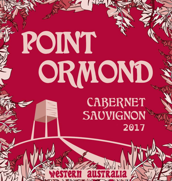 2017 Point Ormond Cabernet Sauvignon, Margaret River, Australia (750ml)