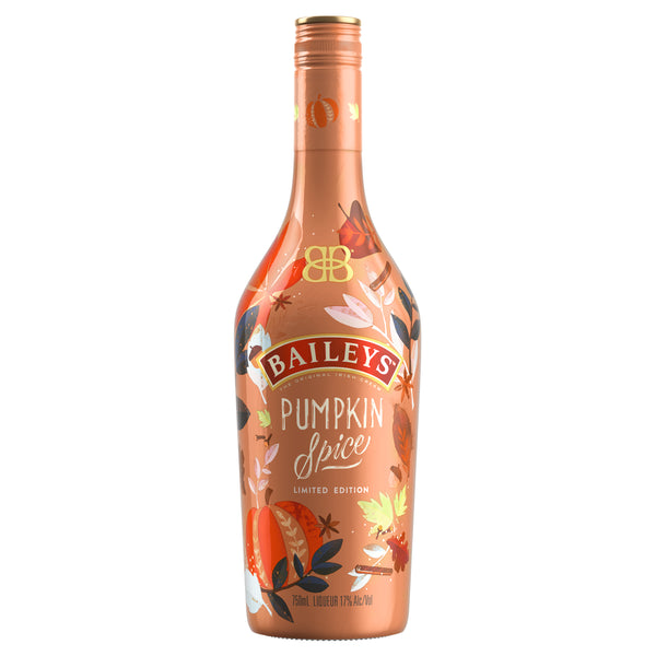 Baileys Pumpkin Spice Cream Liqueur Limited Edition, Ireland (750ml)