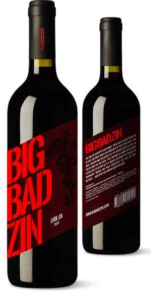 2013 Big Bad Zin Old Vine Zinfandel Lodi, California, USA (750ML)
