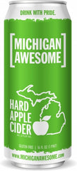 NV Michigan Awesome Hard Apple Cider (6 x 4 pk cans, 16oz)