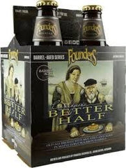 4pk-2018 Founders Brewing Co. Curmudgeon's Better Half Old Ale Beer, Michigan, USA (12oz)