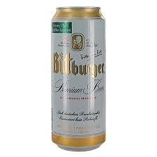 (24pk cans)-Bitburger Premium Pilsner Beer, Germany (500ml)