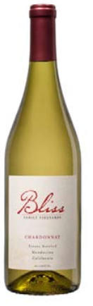 2016 Bliss Family Vineyards Estate Chardonnay, Mendocino, USA (750 mL)