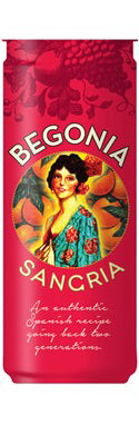 Begonia Sangria, Spain (case, 6 x 4pk cans)
