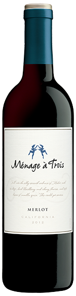 2014 Folie a Deux Menage a Trois Merlot, California, USA (750ml)