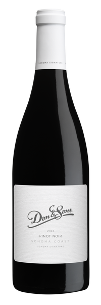 2015 Don Sebastiani & Sons 'Don & Sons' Sonoma Signature Pinot Noir, Sonoma Coast, USA (750ml)