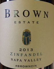 2017 Brown Estate Zinfandel, Napa Valley, USA (750 mL)