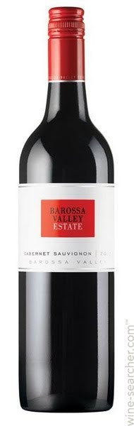 2014 Barossa Valley Estate Cabernet Sauvignon, Barossa Valley, Australia (750 mL)