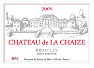 2013 Chateau de la Chaize Brouilly, Beaujolais, France (750ml)