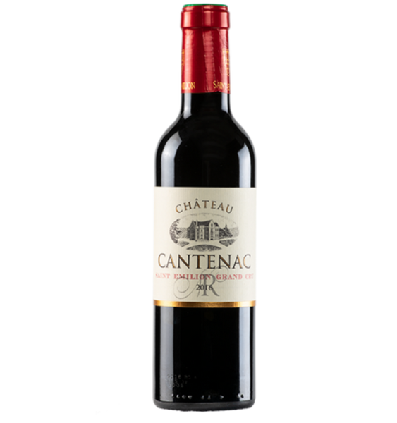 2016 Chateau Cantenac, Saint-Emilion Grand Cru, France (750ml)