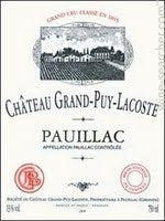 1964 Chateau Grand-Puy-Lacoste, Pauillac, France (750ml)