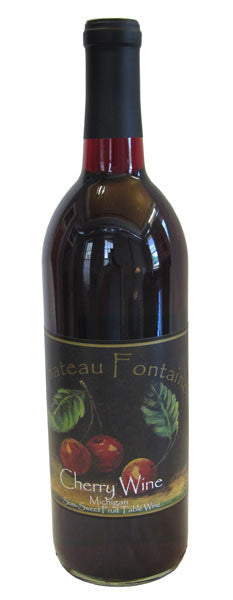 NV Chateau Fontaine Cherry Wine, Leelanau Peninsula, USA (750ml)