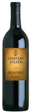 2014 Chateau Julien Barrel Selected Royalty Red, Monterey County, USA (750 mL)